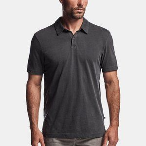 Standard James Perse Mens Gray Sueded Jersey Polo